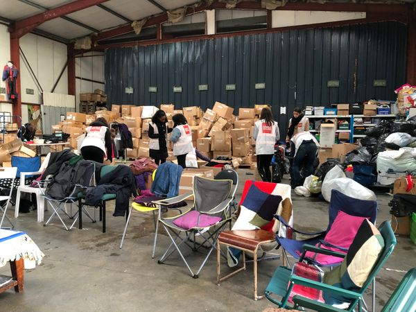 Volunteering in Calais